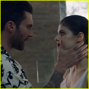 Alexandra Daddario Stars in Maroon 5 'Wait' Music Video - Watch Now!