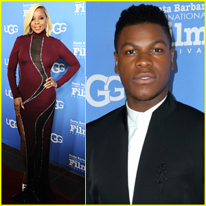 Mary J. Blige Joins John Boyega at Virtuosos Awards in Santa Barbara