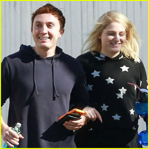 Meghan Trainor & Daryl Sabara Couple Up Ahead of Valentine's Day