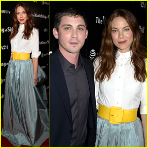 Michelle Monaghan & Logan Lerman Premiere Their New Indie Film 'Vanishing of Sidney Hall'
