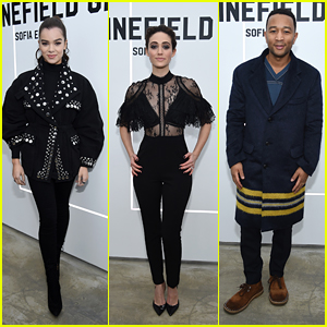 Hailee Steinfeld, Emmy Rossum, John Legend & More Attend the Launch of 'The Minefield Girl'!