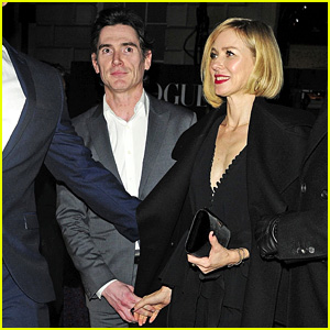 Naomi Watts & Billy Crudup Hold Hands at BAFTAs 2018 After Party