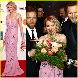 Naomi Watts, Ewan McGregor, & Liam Neeson Unite at Golden Camera Awards!