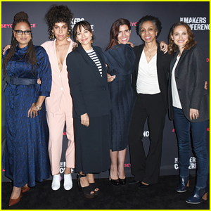 Natalie Portman, Rashida Jones & More Join Forces To Represent Time's Up at Makers Conference 2018!