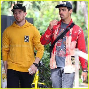Nick Jonas Meets Up With Brother Joe in Australia - See Pics!