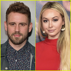 Are Nick Viall & Corinne Olympios Back Together? He Clarifies in Her Instagram Comments!