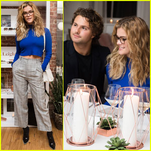 Nina Agdal & Jack Brinkley-Cook Couple Up at 'Mr. Leight' Launch Party