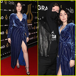 Noah Cyrus Joins Alan Walker at Spellemann Awards 2018