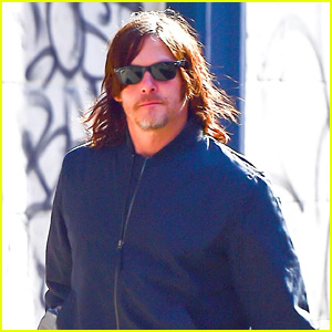 Norman Reedus Enjoys the Sunny Weather in NYC
