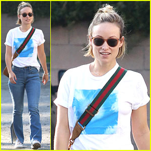 Olivia Wilde Keeps It Comfy & Cute While Out to Lunch in WeHo