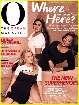 Oprah Winfrey, Reese Witherspoon & Mindy Kaling Open Up About #TimesUp, Sexism & Moving Forward