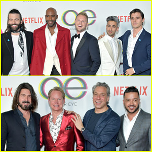 Original 'Queer Eye' Cast Reunites at Reboot Premiere!