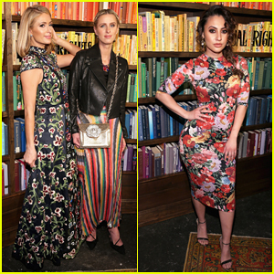 Paris & Nicky Hilton Team Up for Alice + Olivia By Stacey Bendet NYFW Presentation!