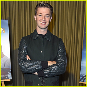 Patrick Schwarzenegger Goes Overseas to Promote 'Midnight Sun'