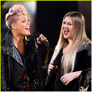 Pink Gets National Anthem Advice From 2012's Super Bowl Singer Kelly Clarkson!