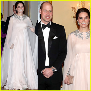 Pregnant Kate Middleton Is a True Goddess at Dinner in Norway!