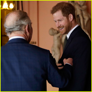 Prince Harry Accompanies Father Prince Charles at International Year of The Reef Meeting 2018!