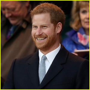 Prince Harry Checks Out the England vs. Wales Rugby Match!
