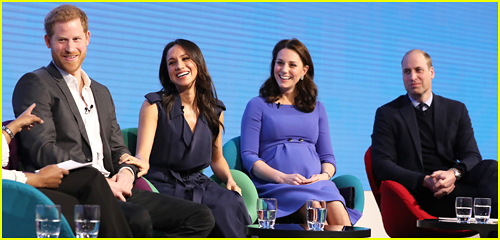 Prince Harry, Meghan Markle, Kate Middleton & Prince William Make First Joint Appearance at Royal Foundation Forum!