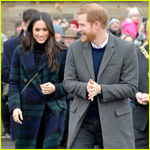 Prince Harry & Meghan Markle Get Warm Edinburgh Welcome During Royal Visit!