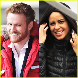 Prince Harry & Meghan Markle Lifetime Movie Begins Filming (Photos)