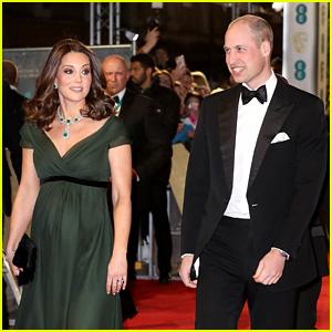Pregnant Kate Middleton Chooses Green Dress for BAFTAs 2018, Despite Pressure to Wear Black