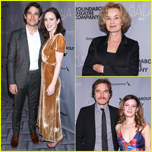 Rachel Brosnahan, Michael Shannon & More Help Honor Jessica Lange at Roundabout Theatre Company's 2018 Gala!