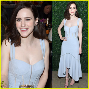 rachel brosnahan steps out for ruffino wines dannijo nyfw kick off