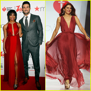 Rachel Lindsay, Marisa Tomei, Kate Walsh & More Hit Runway at Go Red For Women Fashion Show 2018!