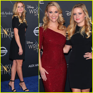 Reese Witherspoon Brings Look-Alike Daughter Ava Phillippe to 'Wrinkle in Time' Premiere!