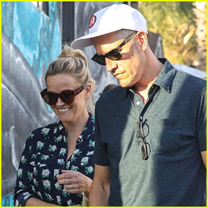 Reese Witherspoon is All Smiles on Lunch Date with Husband Jim Toth