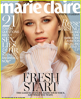 Reese Witherspoon Reveals How She Combats Her Fears