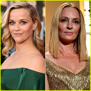 Reese Witherspoon & More Stars Praise Uma Thurman for Coming Forward with Weinstein Allegation