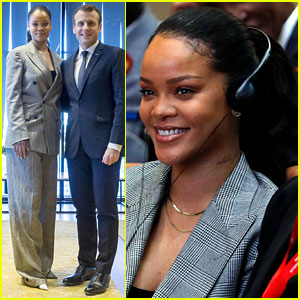 Rihanna Helps Raise Over $2.3 Billion for Global Education at Conference in Senegal