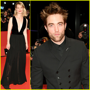 Robert Pattinson Coordinates with Mia Wasikowska at 'Damsel' Berlin Film Festival Premiere!