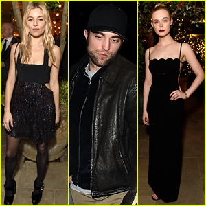 Robert Pattinson & Sienna Miller Join More Stars at BAFTAs After Party
