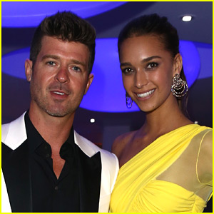 Robin Thicke & Girlfriend April Love Geary Welcome Baby Girl - Find Out Her Name!