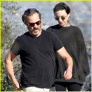 Rooney Mara & Boyfriend Joaquin Phoenix Go Hiking in LA
