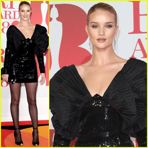 Rosie Huntington-Whiteley Looks So Chic for Brit Awards 2018!