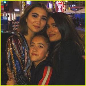 Salma Hayek Shares Rare Photo of Mini-Me Daughter Valentina!