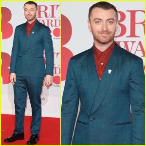 Sam Smith Suits Up For The Brit Awards 2018!