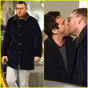 Sam Smith & Brandon Flynn Pack On The PDA in London