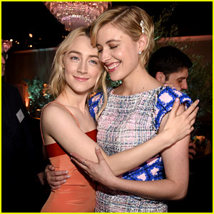 Lady Bird's Saoirse Ronan & Greta Gerwig Celebrate Their Oscar Nominations!