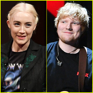 Saoirse Ronan Says Ed Sheeran's Misspelled Tattoo Isn't Her Fault - Watch!