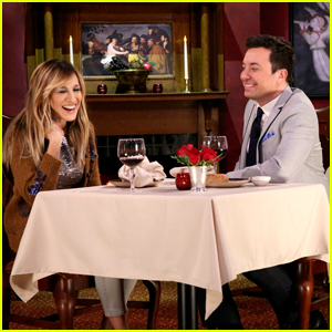 Sarah Jessica Parker & Jimmy Fallon Can't Stop Laughing During 'Mad Lib Theater' On 'The Tonight Show'!