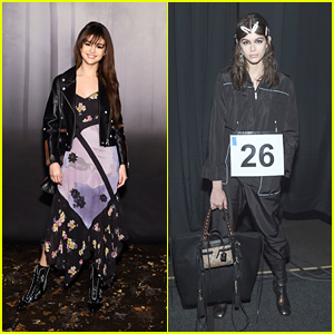 Selena Gomez & Kaia Gerber Attend the Coach Fashion Show During NYFW 2018!