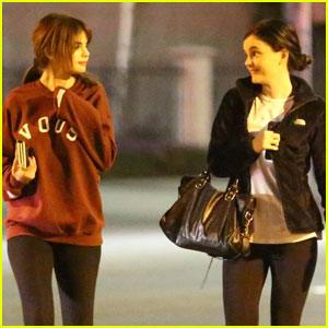 Selena Gomez Grabs Dinner With A Girl Friend in LA!