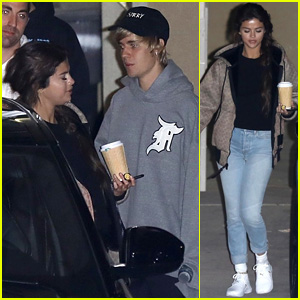Selena Gomez & Justin Bieber Are Back Home After PDA Packed Trip!