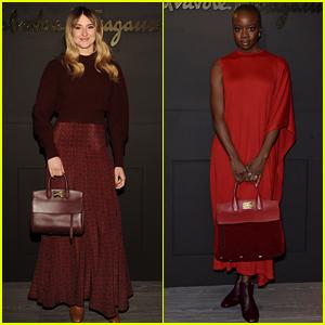 Shailene Woodley & Danai Gurira Attend Ferragamo's Fashion Show in Milan