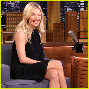 Sienna Miller & Jimmy Fallon Can't Stop Laughing During 'Tonight Show's Lip Flip!